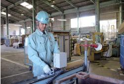 紙の管の品質・寸法チェック