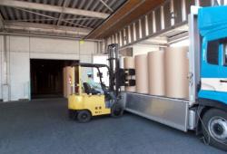 紙製品の出荷