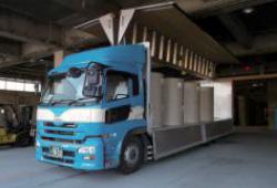 紙製品の輸送